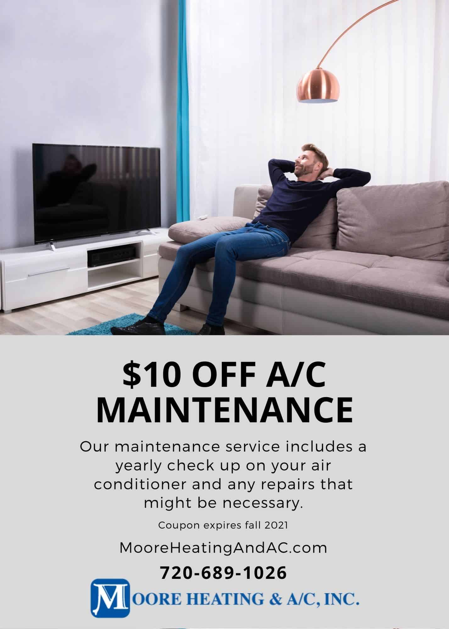 A/C Maintenance Coupon