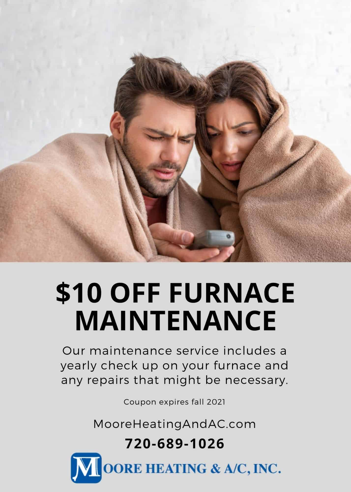Furnace Maintenance Coupon