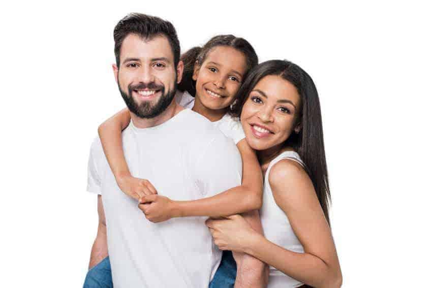 Smiling-Family-in-Comfortable-temperature